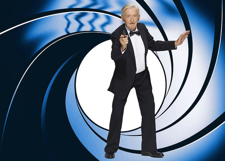 elderly man james bond halloween costume