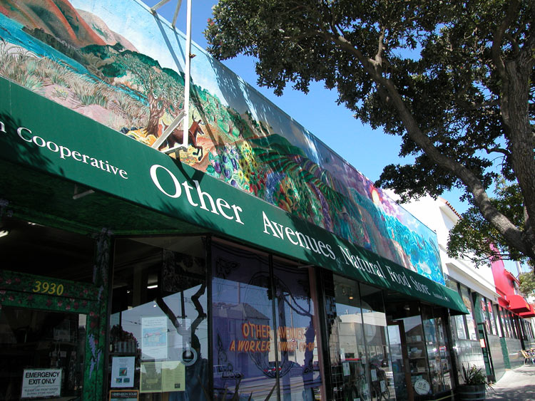 Other Avenues Co-op San Francisco Senior Discount