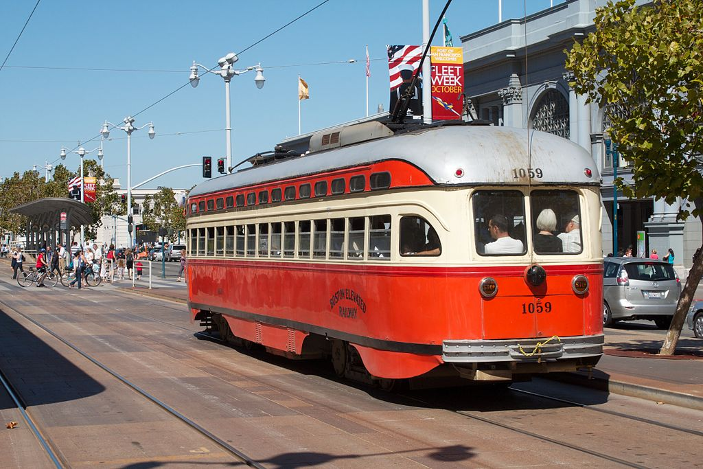 Muni Streetcars, Cable Cars, and Buses Senior Fare