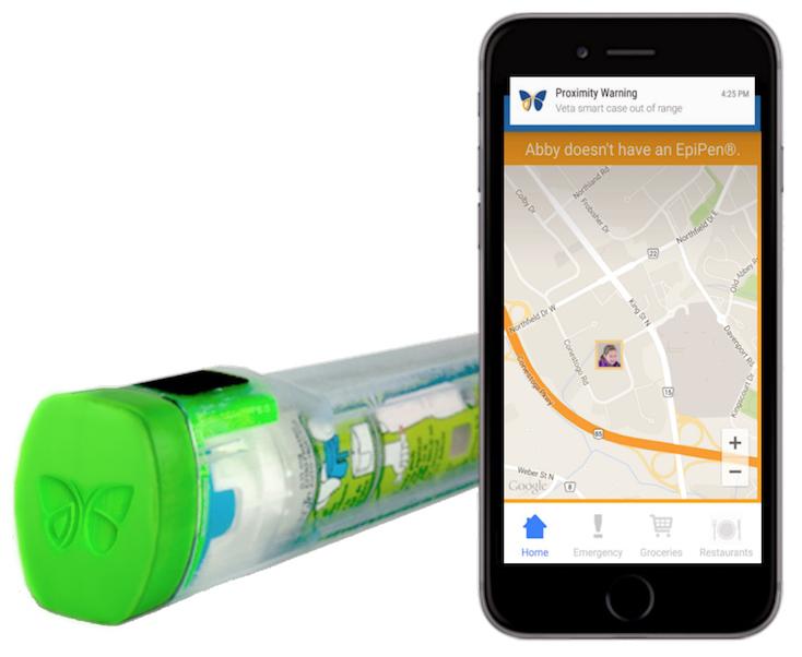 Veta Bluetooth EpiPen Case